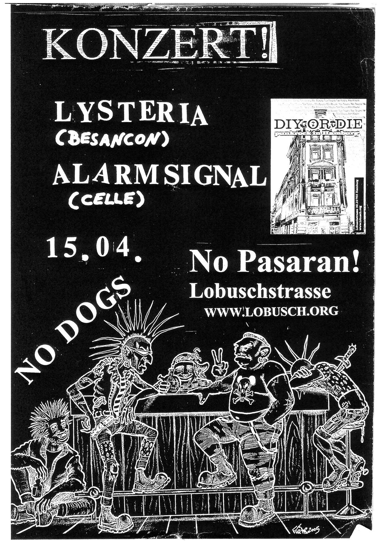 Flyer vom 15.04.2005