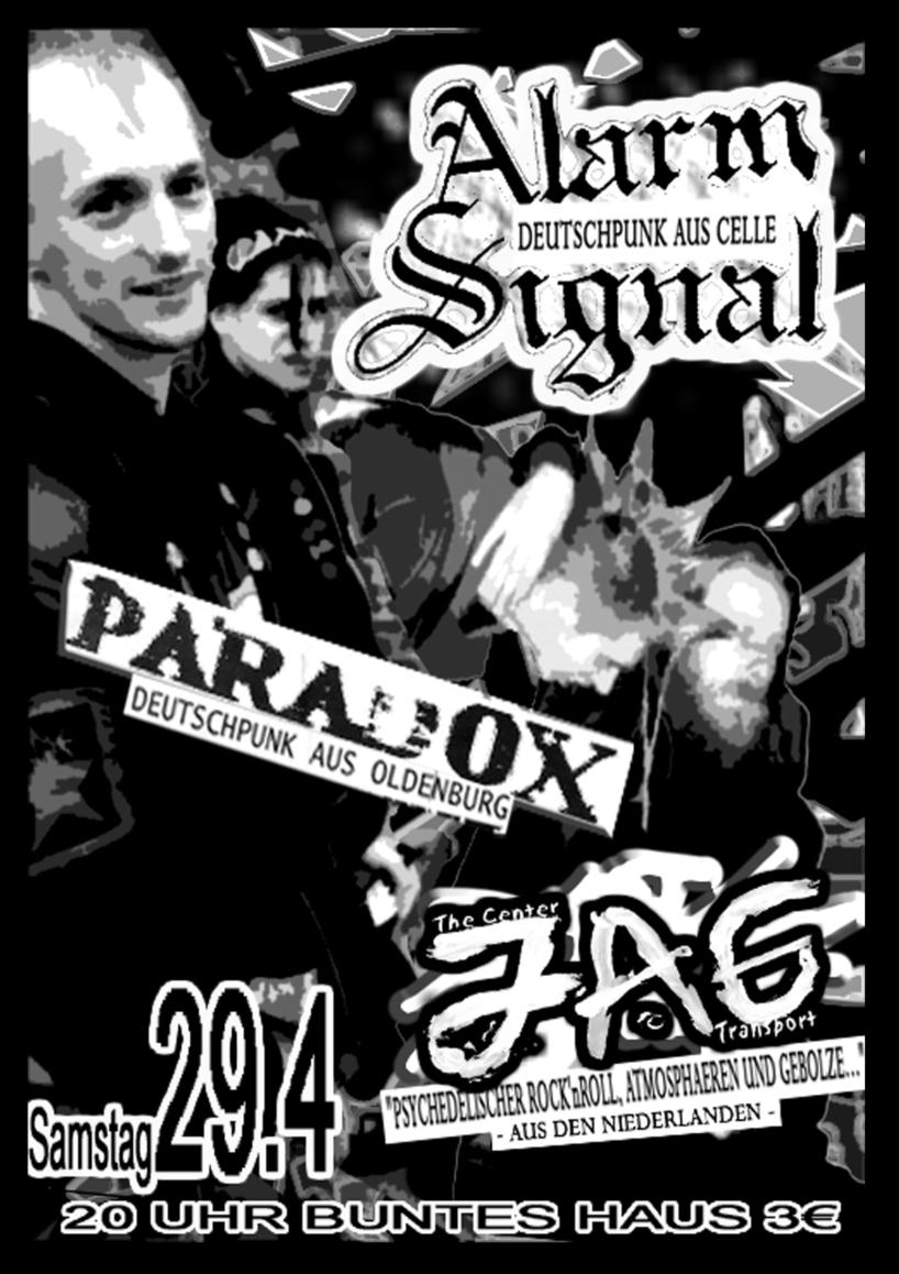 Flyer vom 29.04.2006