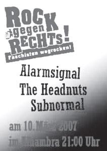 Flyer vom 10.03.2007