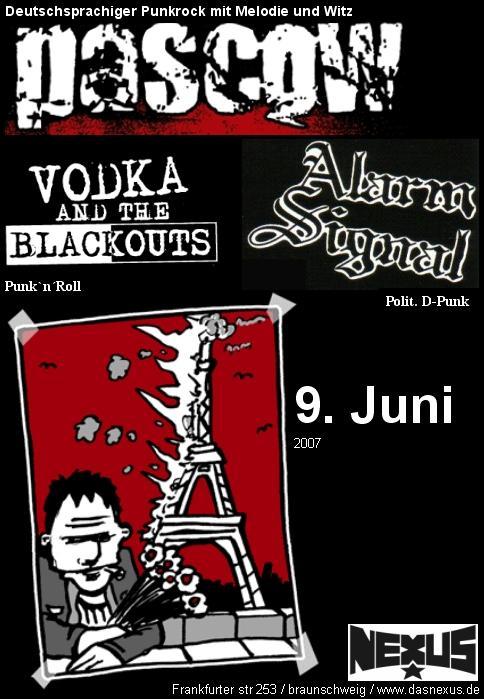 Flyer vom 09.06.2007