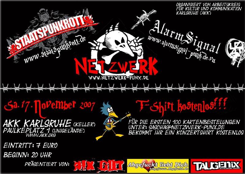 Flyer vom 17.11.2007