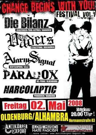 Flyer vom 02.05.2008