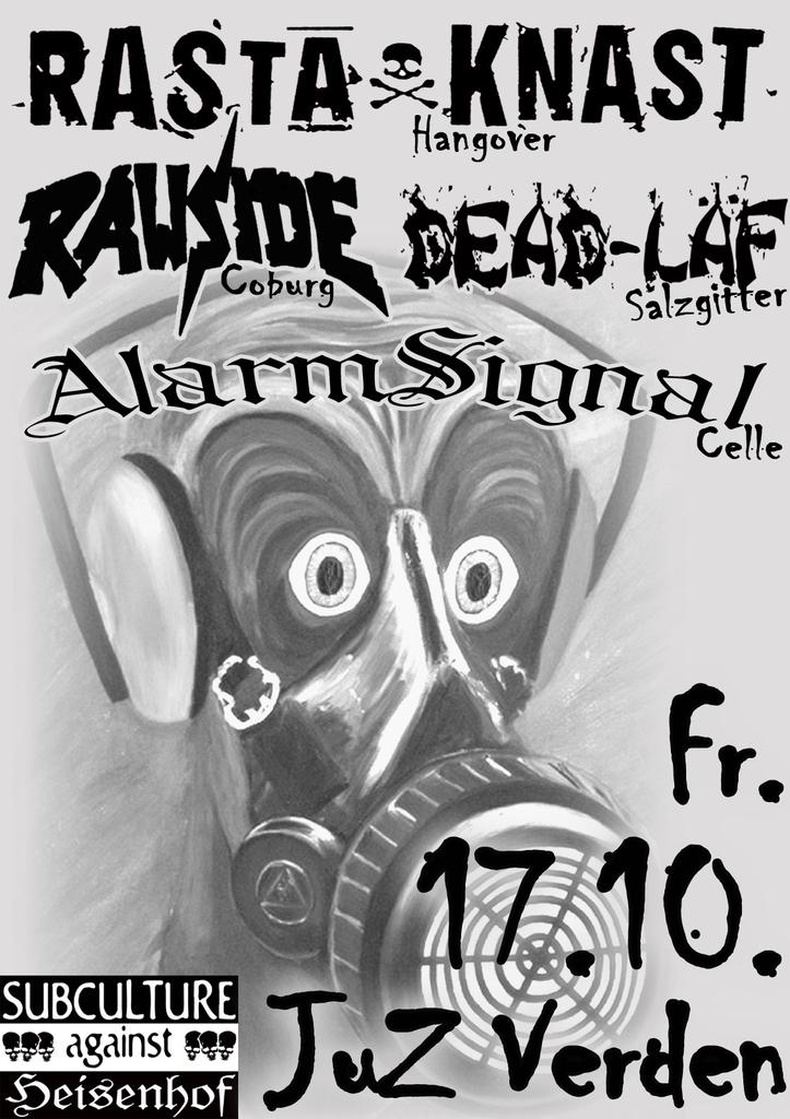 Flyer vom 17.10.2008