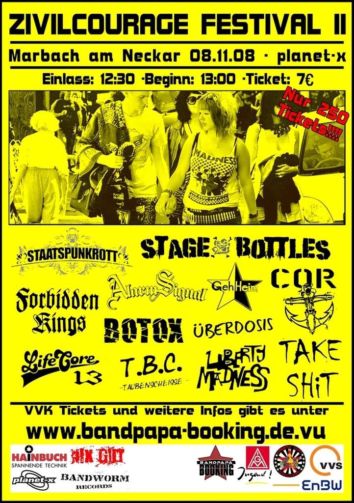 Flyer vom 08.11.2008