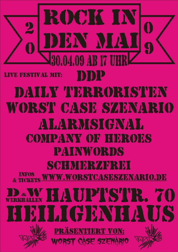 Flyer vom 30.04.2009