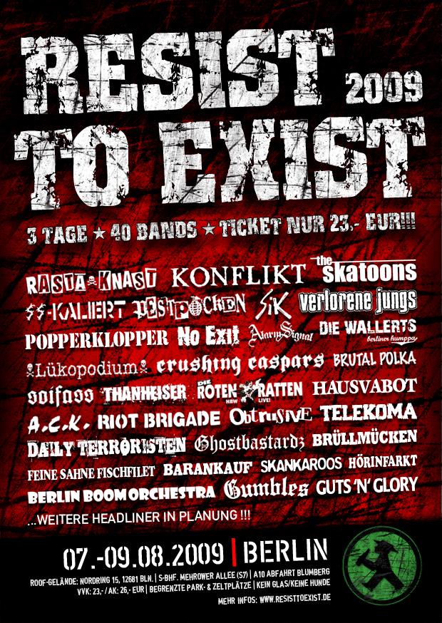 Flyer vom 08.08.2009