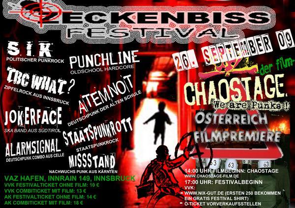 Flyer vom 26.09.2009