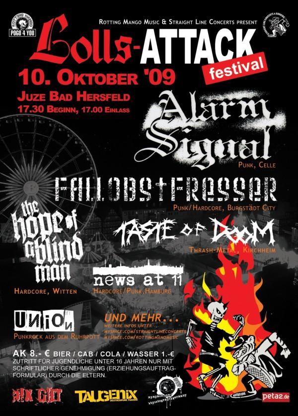 Flyer vom 10.10.2009