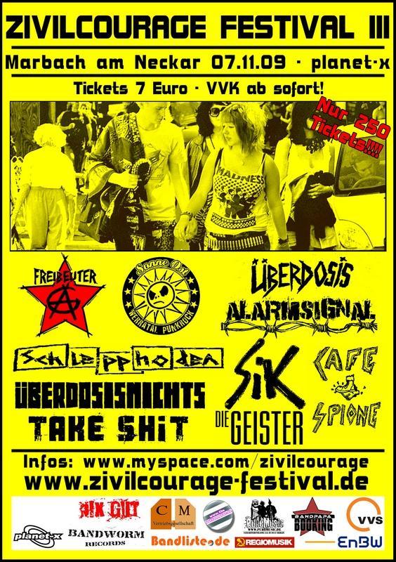 Flyer vom 07.11.2009
