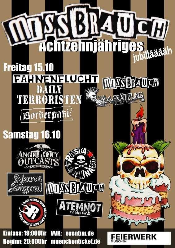 Flyer vom 16.10.2010