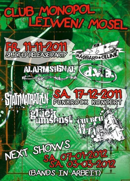 Flyer vom 11.11.2011