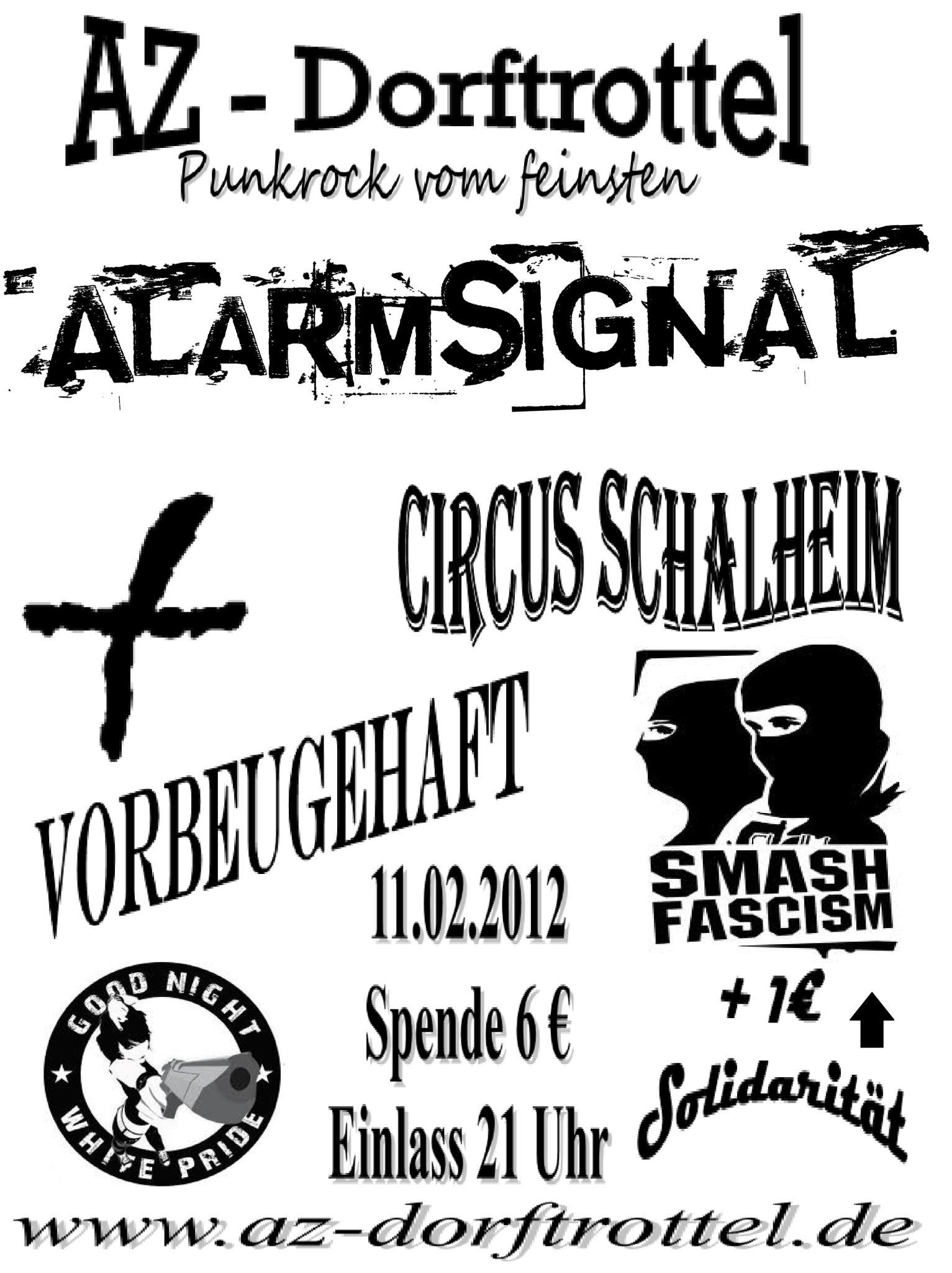 Flyer vom 11.02.2012