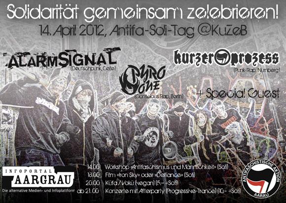 Flyer vom 14.04.2012