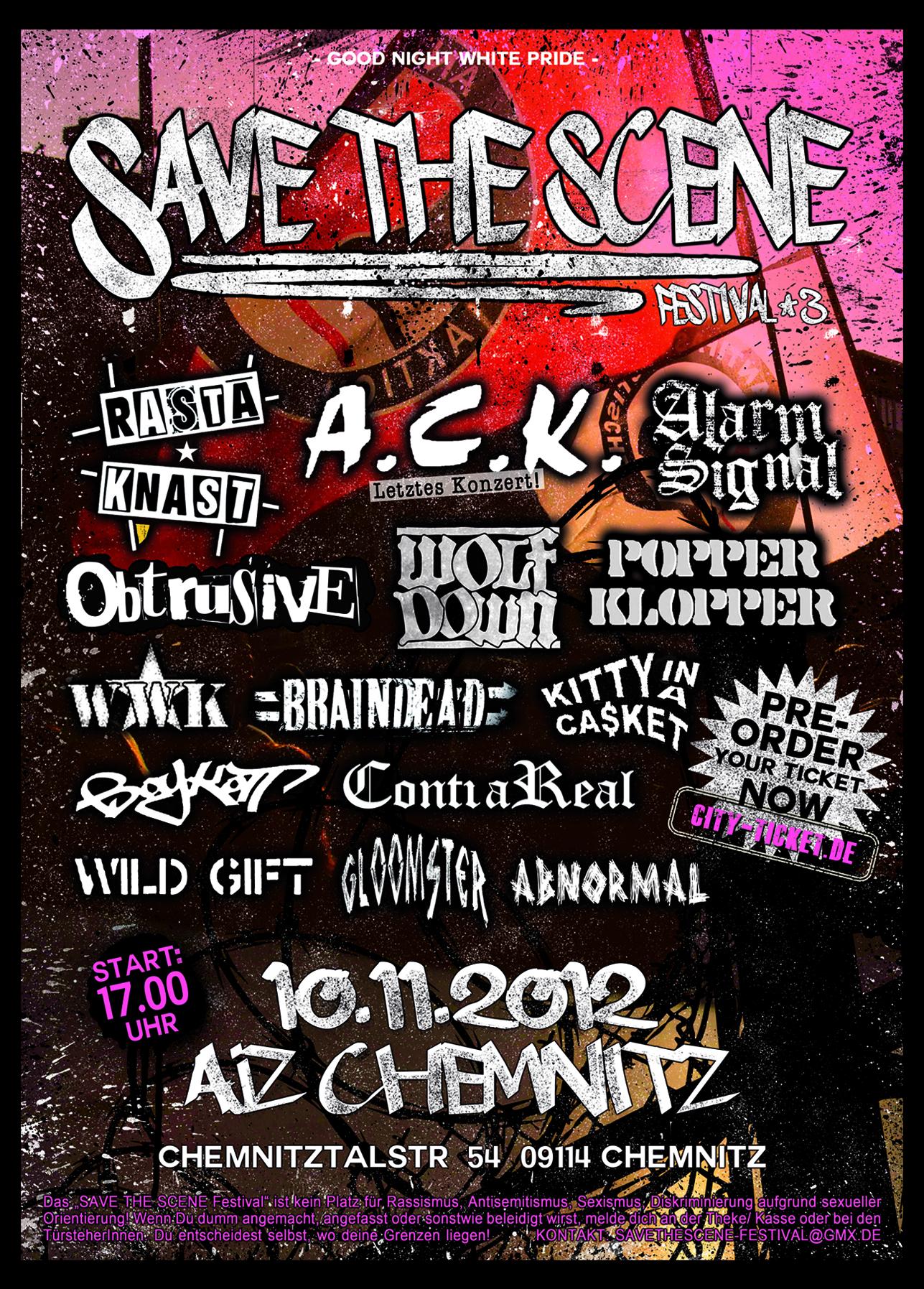 Flyer vom 10.11.2012