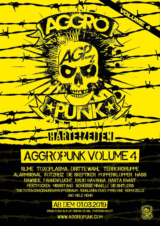 Aggressive Punk Produktionen kündigen vierten Teil ihrer Samplerreihe an
