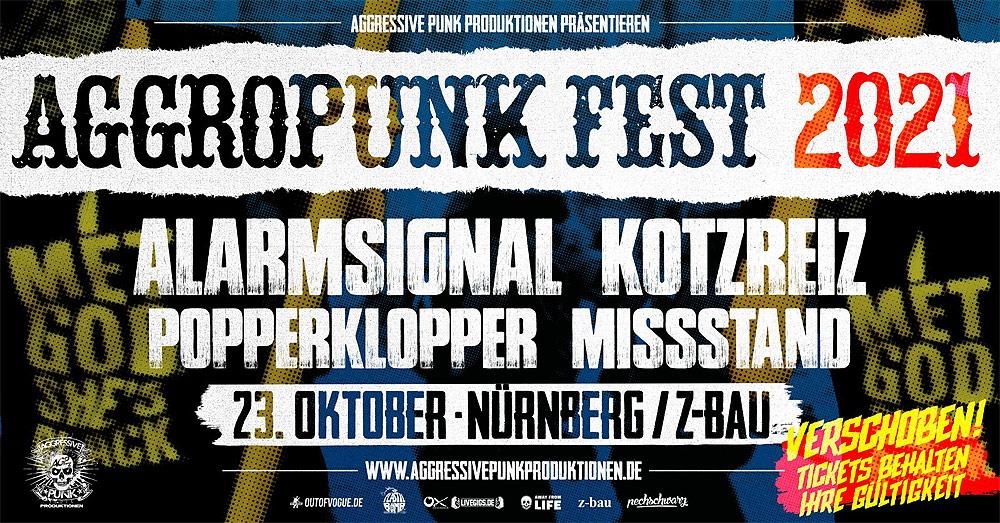 Aggropunk Fest auf 2021 verschoben