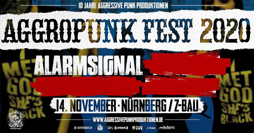 Alarmsignal beim Aggropunk Fest 2020
