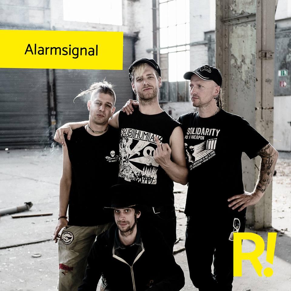 Alarmsignal beim Ract!festival 2019