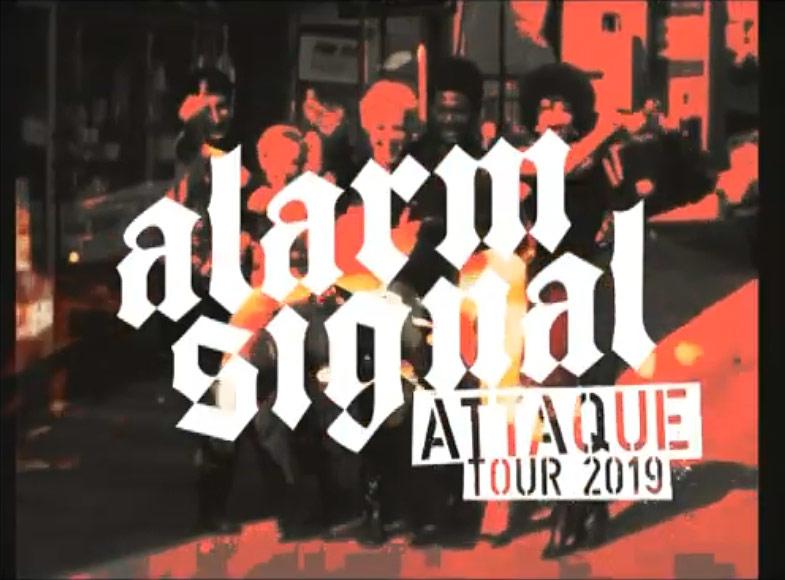 Alarmsignal gehen wieder auf Attaque-Tour