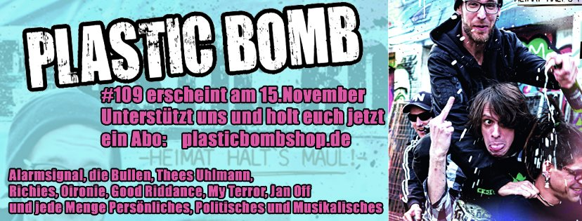 Alarmsignal in Plastic Bomb #109