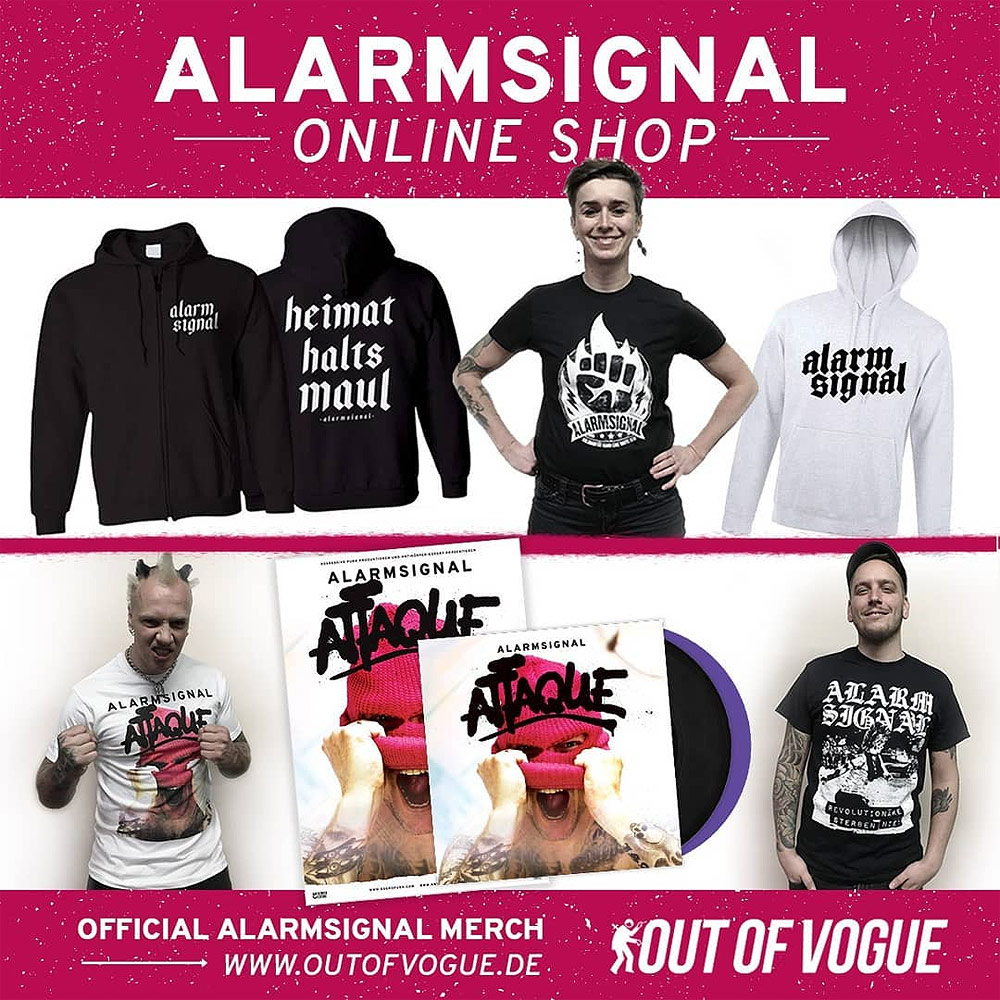 Alarmsignal Merchandise bei Out Of Vogue