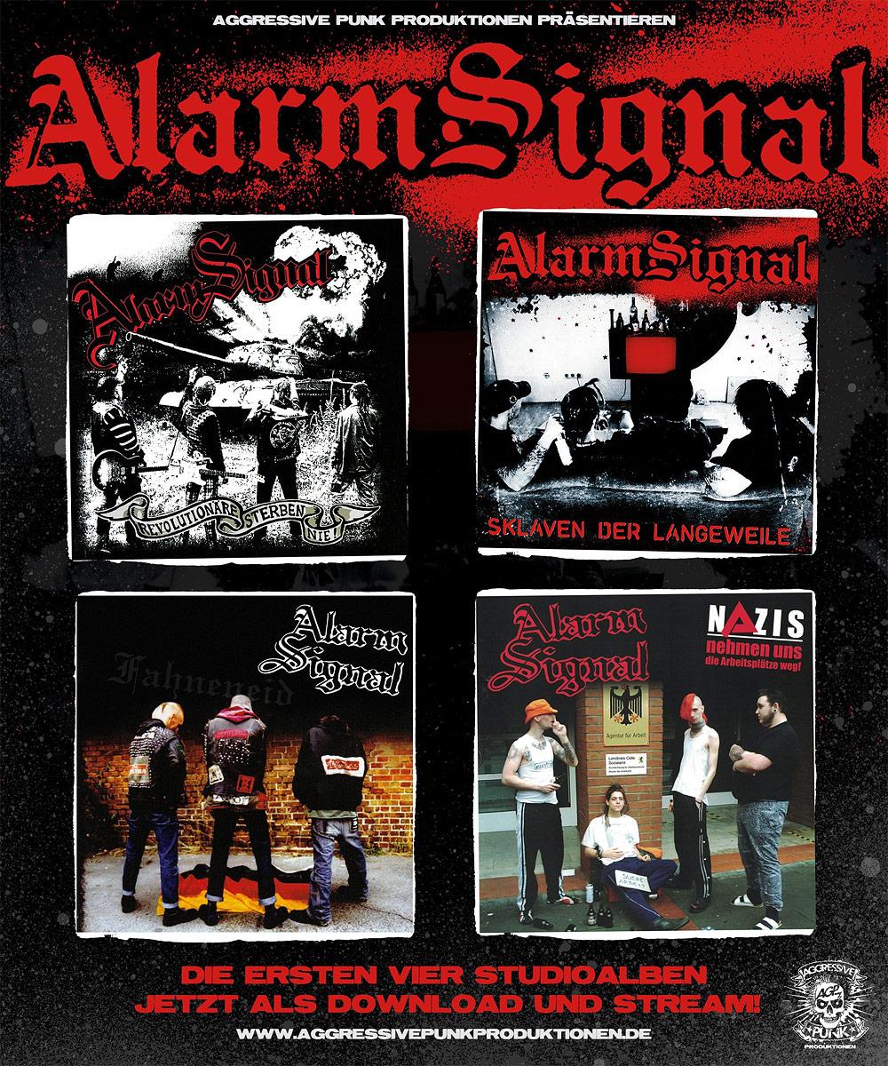 Alarmsignals erste Alben jetzt auch digital erhältlich