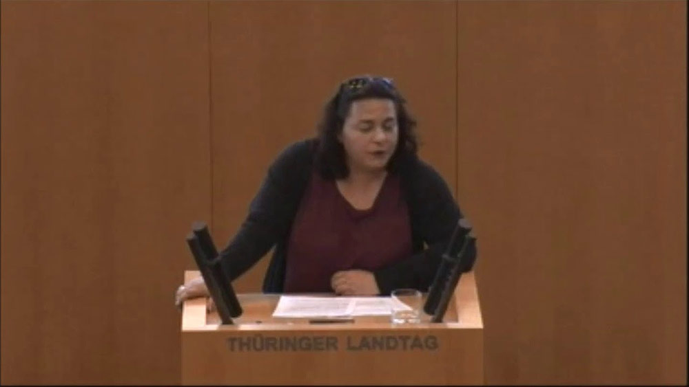 Katharina König-Preuss und ihre Punkrock-Rede im Thüringer Landtag