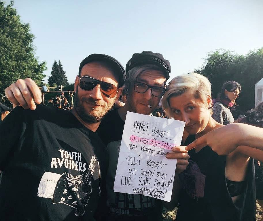 Mondo Bizarro Punkrock Radio Special mit Bulli