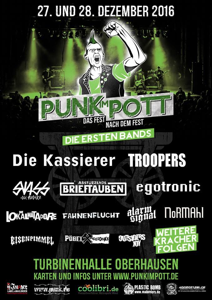 Punk im Pott ohne Alarmsignal