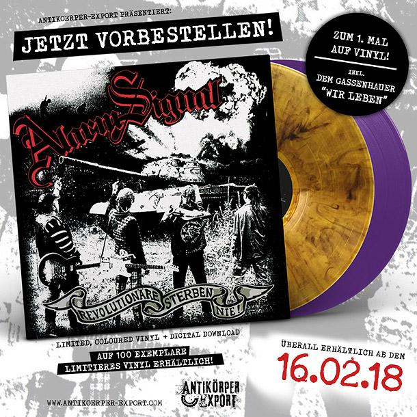 Revolutionäre sterben nie zum ersten Mal auf Vinyl LP