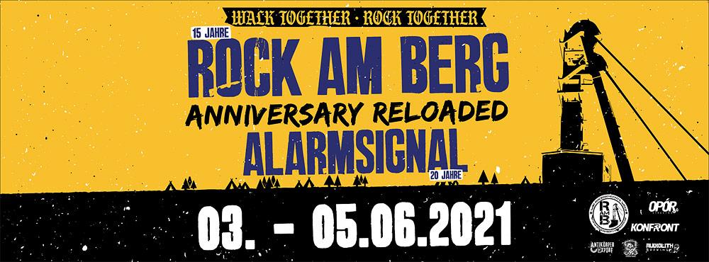 Rock am Berg Open Air 2021 Anniversary Reloaded