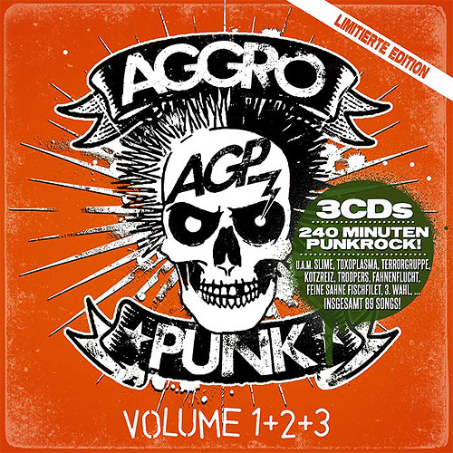 Cover Aggropunk Vol. 1+2+3