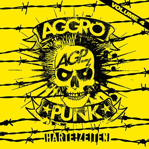 Cover Aggropunk Vol. 4 - Harte Zeiten!