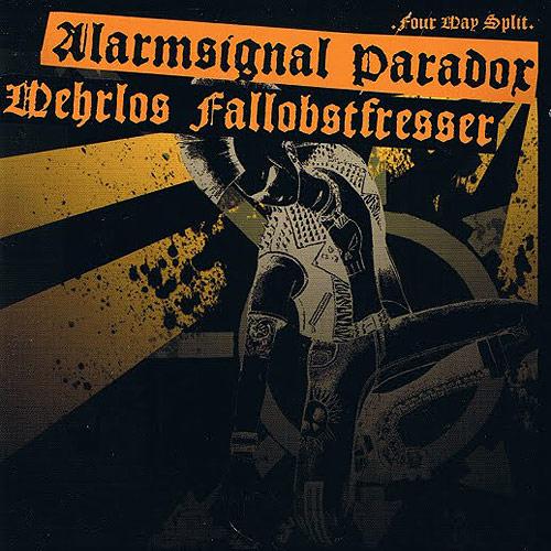 Cover Alarmsignal / Paradox / Fallobstfresser / Wehrlos