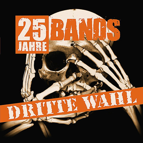 Cover Dritte Wahl: 25 Jahre - 25 Bands