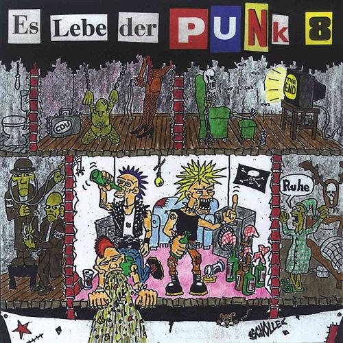 Cover Es lebe der Punk 8
