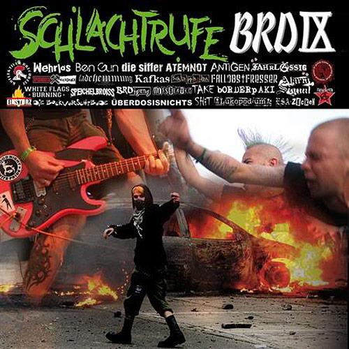 Cover Schlachtrufe BRD IX