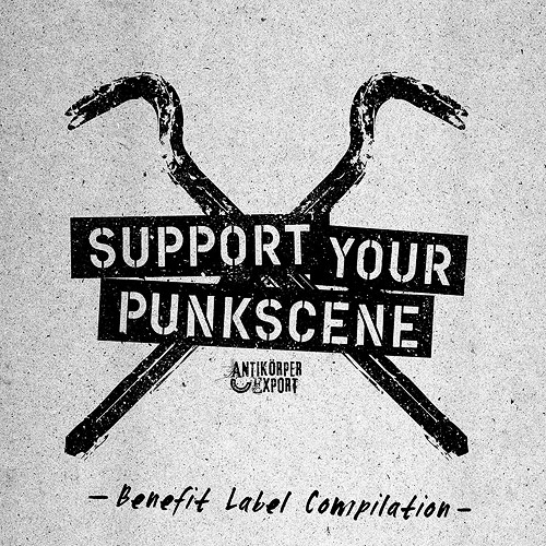 Cover Support Your Punkscene - Benefit Label Compilation
